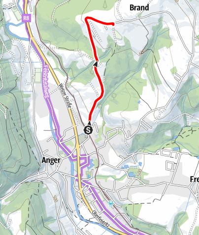 Karte / Höhenmeter Weltrekord Strecke- Thomas Mauerhofer