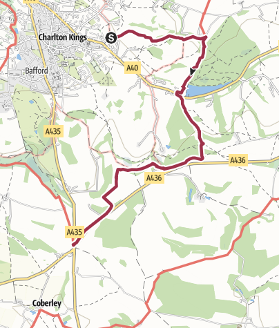 Map / Dowdeswell to Seven Springs