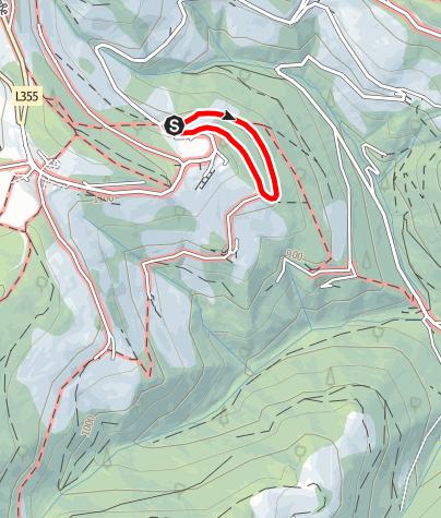 Karte / Kinder Ikonenweg -Wallfahrerrundweg Heilbrunn