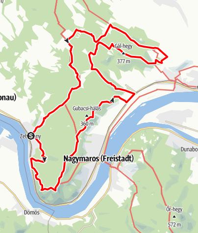 Térkép / Dél-börzsönyi kilátások (teljesítménytúra)