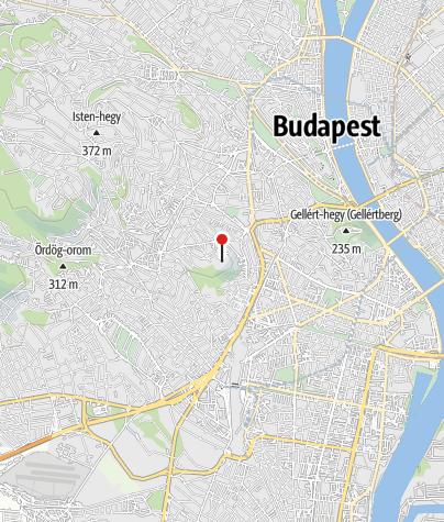 Térkép / Sas-hegyi Látogatóközpont (Budapest)