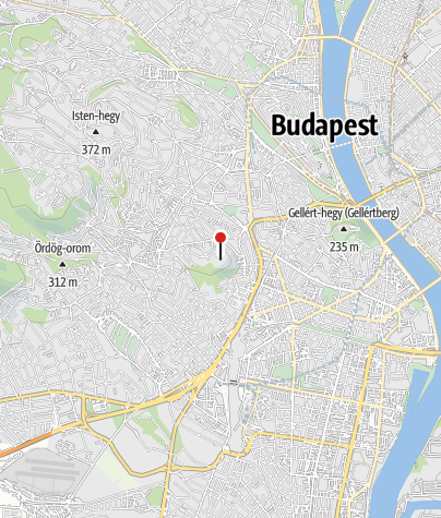 Mapa / Sas-hegyi Látogatóközpont (Budapest)