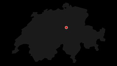 Carte / Waldstätterweg: Etape 1 Brunnen - Vitznau