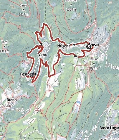 Map / Sentiero del Castagno