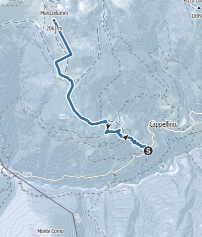 Map / Von Spruga auf den Munzelüm