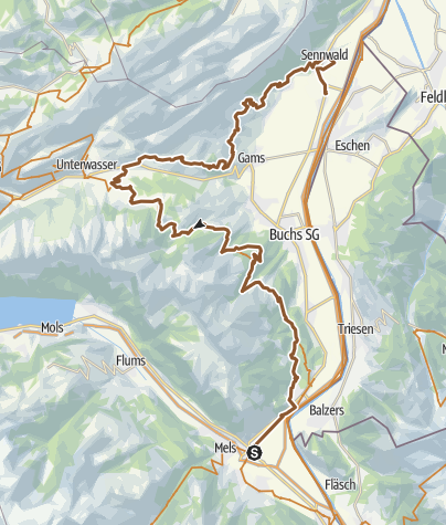 Karte / Wildmannli-Bike