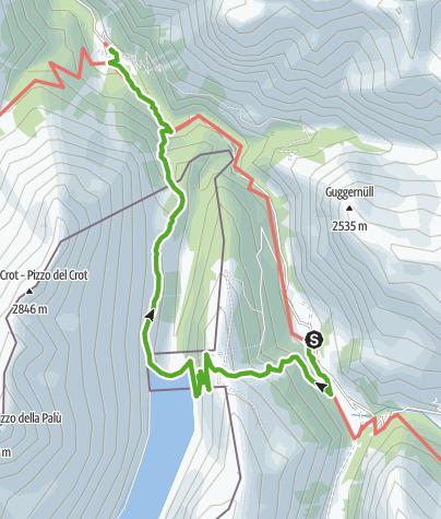 Karte / Valle di Lei