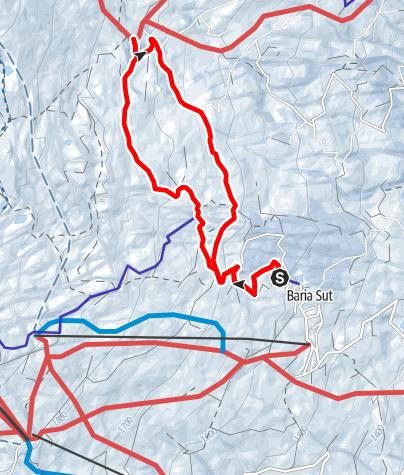 Karte / Parsirasrunde (Oberurmein - Parsiras - Oberurmein)