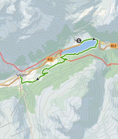 Karte / Sufner See