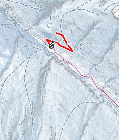 Karte / Avers-Pürt - Obergada - Avers-Pürt