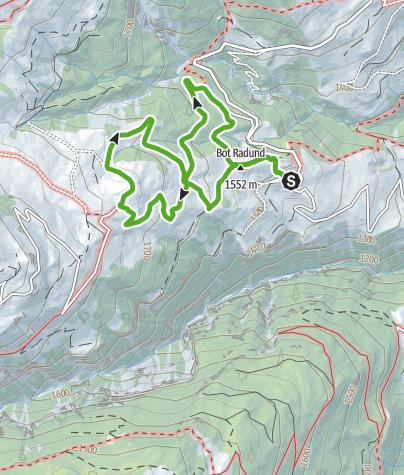 Karte / Capricorn Pirsch, Wergenstein