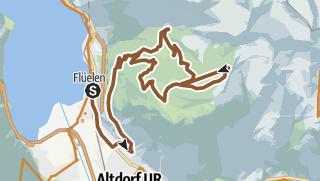Karte / Eggberge / Fleschsee