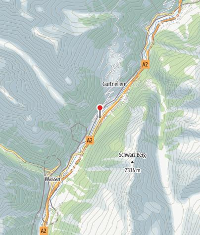 Karte / Hotel St.Gotthard
