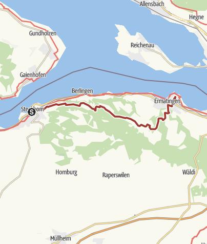 Karte / Thurgauer Fabelweg