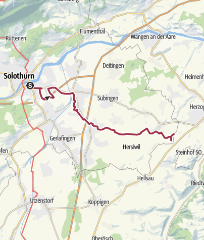Map / Right through the Wasseramt