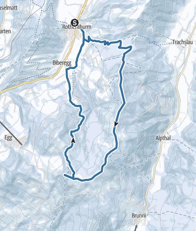 Karte / Grossbrechenstock und Hochstuckli
