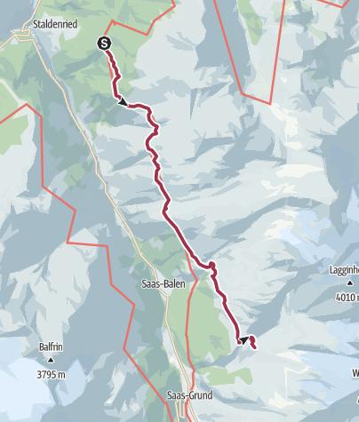Carte / Chemin de montage de Gspon