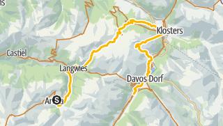 Map / GrischaTrail: Arosa - Davos