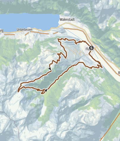 Karte / Alp Fursch Bike Nr. 478
