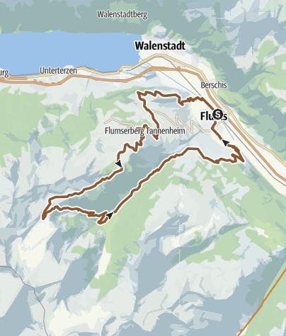Map / Alp Fursch Bike No. 478