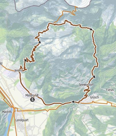 Karte / Älpli - Kamm