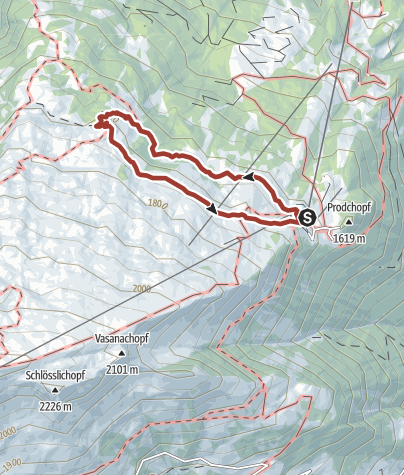 Map / Heidi path - Alp Schwarzbüel