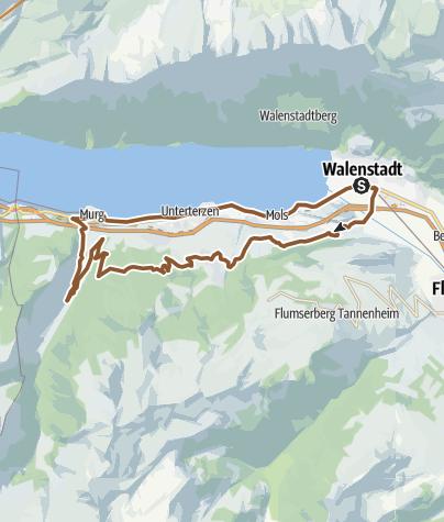 Map / Walensee Bike No. 476