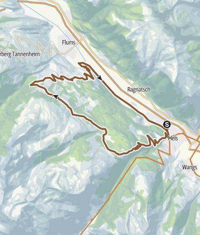 Karte / Chapfensee Tour Nr. 473