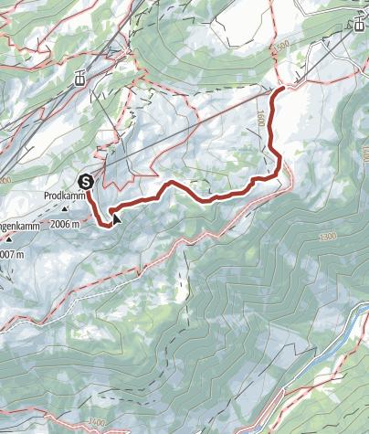 Map / Sagenerlebnisweg Flumserberg