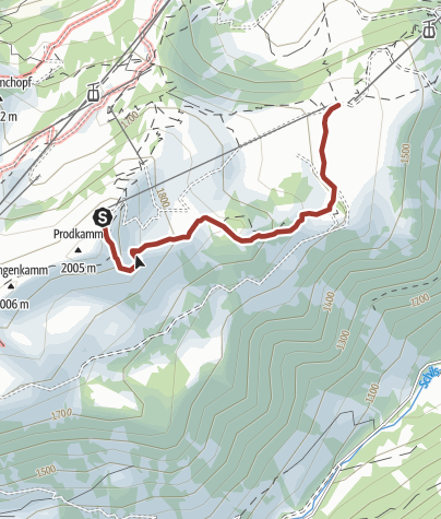 Karte / Sagenerlebnisweg Flumserberg