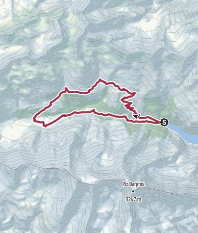 Map / St. Martin - Alp Sardona - St. Martin
