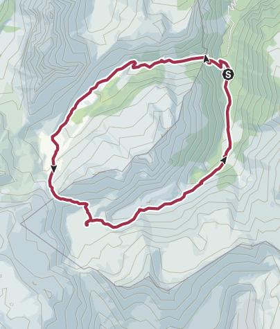 Karte / Murgseen-Rundtour