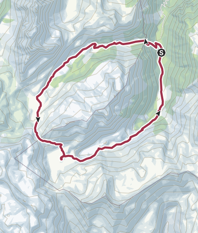Map / Murgseen-circular-path