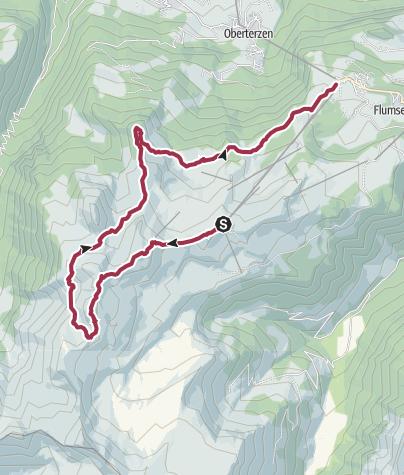 Karte / 7-Gipfel-Tour