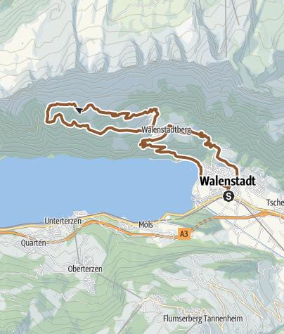 "Map / ""Bockpfad"" path"