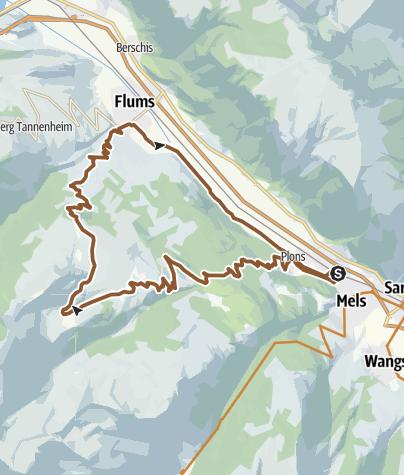 Karte / Alp Mädems Bike