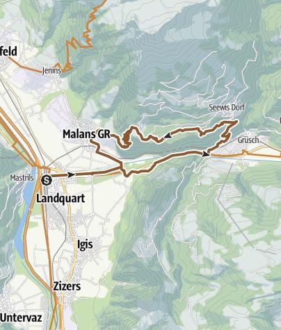 Karte / Fadärastein