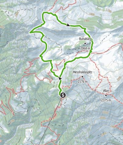 Karte / Zuckerstock