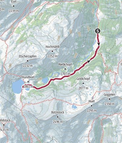 Map / Murgsee-Geniessertour