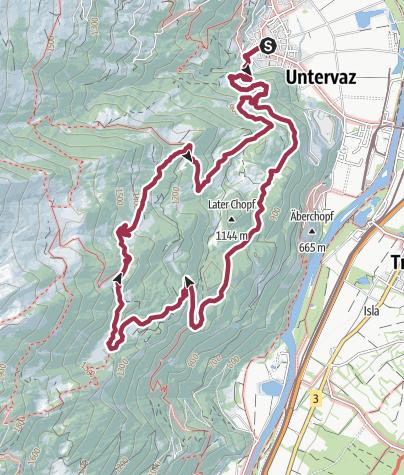 Karte / Untervaz