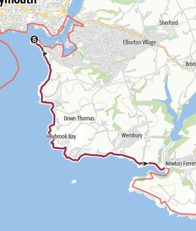 Map / Plymouth to Noss Mayo