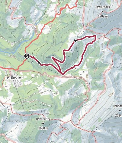 Map / Alpine cheese-dairy circuit