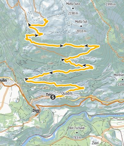 Karte / Alp Mora (251)