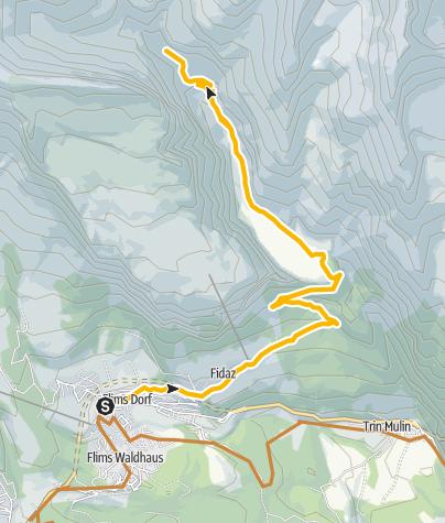 Kaart / Hochtal Bargis (250)