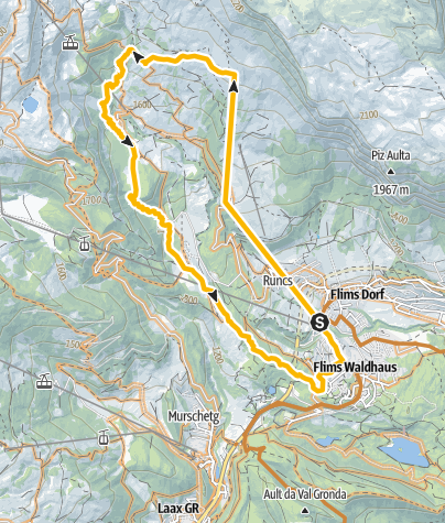 Map / Trek Runcatrail (694)