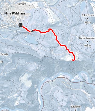 Map / Flims Waldhaus - Conn