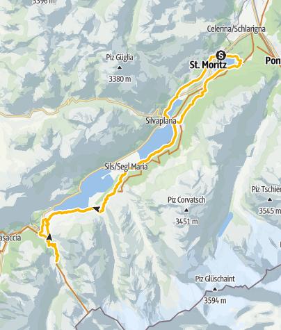 Map / Lej da Cavloc