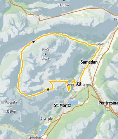 Map / Suvretta Loop (671)