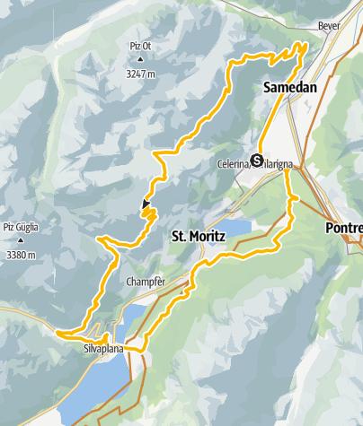 Kaart / Padella Panorama Tour (672)