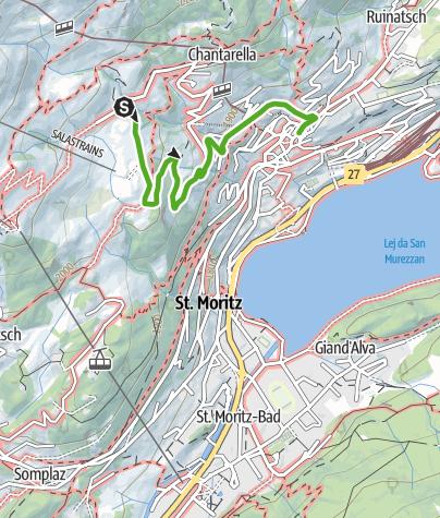Karte / Schellenursliweg